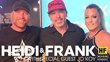 Heidi and Frank with guest Jo Koy