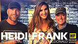 Heidi and Frank with guest Heather McDonald